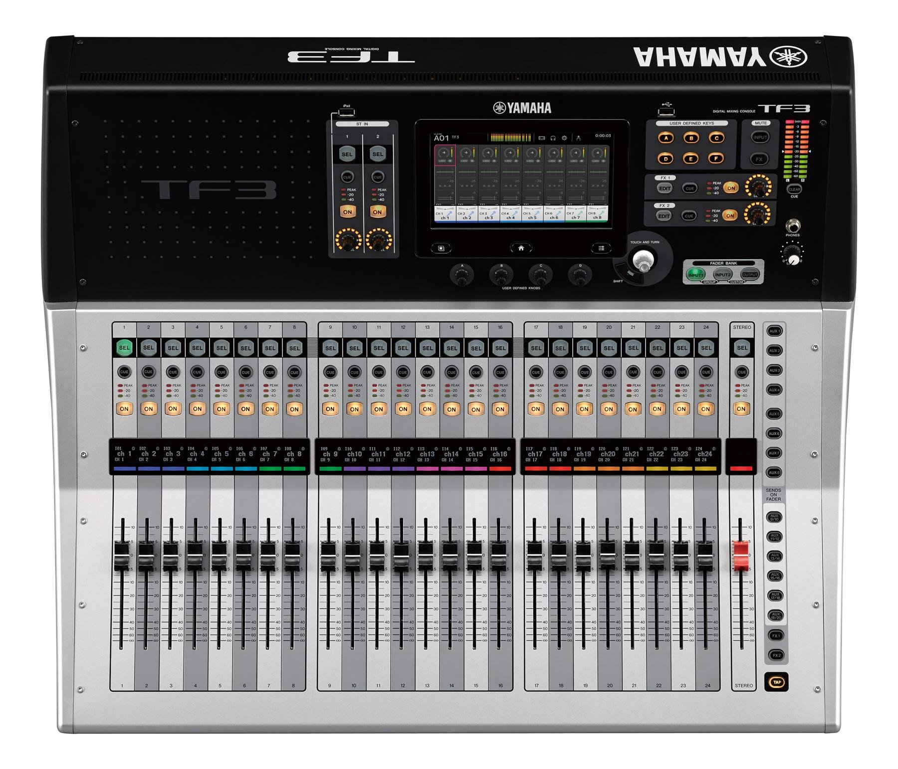 Yamaha Tf1 Digital Mixer Sweetwater Hear Technologies Hookup Diagrams Stereo Live 16 Channels Of Tf3