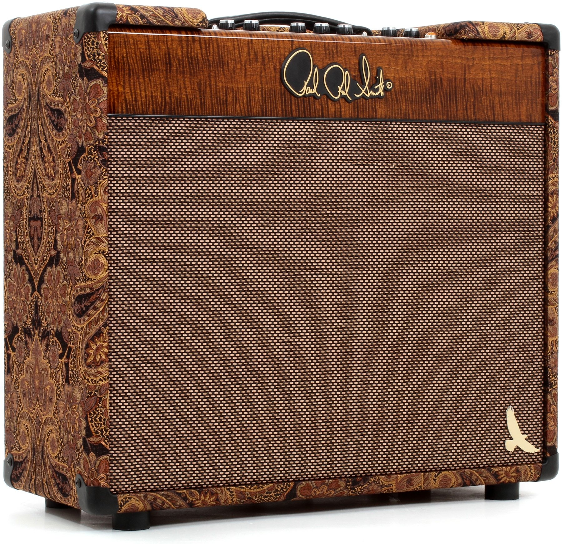 Prs Hxda El34 30 Watt 1x12 Tube Combo Amp Paisley And Black Gold 20w Power Amplifier With