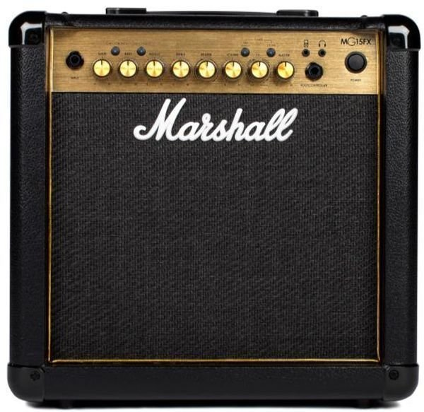 marshall mg15gr 15 watt 1x8 combo amp w reverb sweetwater. Black Bedroom Furniture Sets. Home Design Ideas