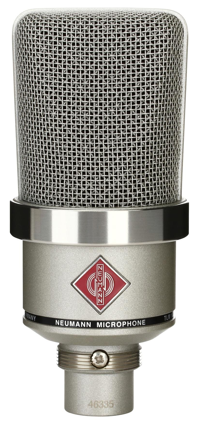 Neumann Tlm 102 Large Diaphragm Condenser Microphone Nickel Usb Powered Stereo Computer Speaker Electroniccircuit Image 1