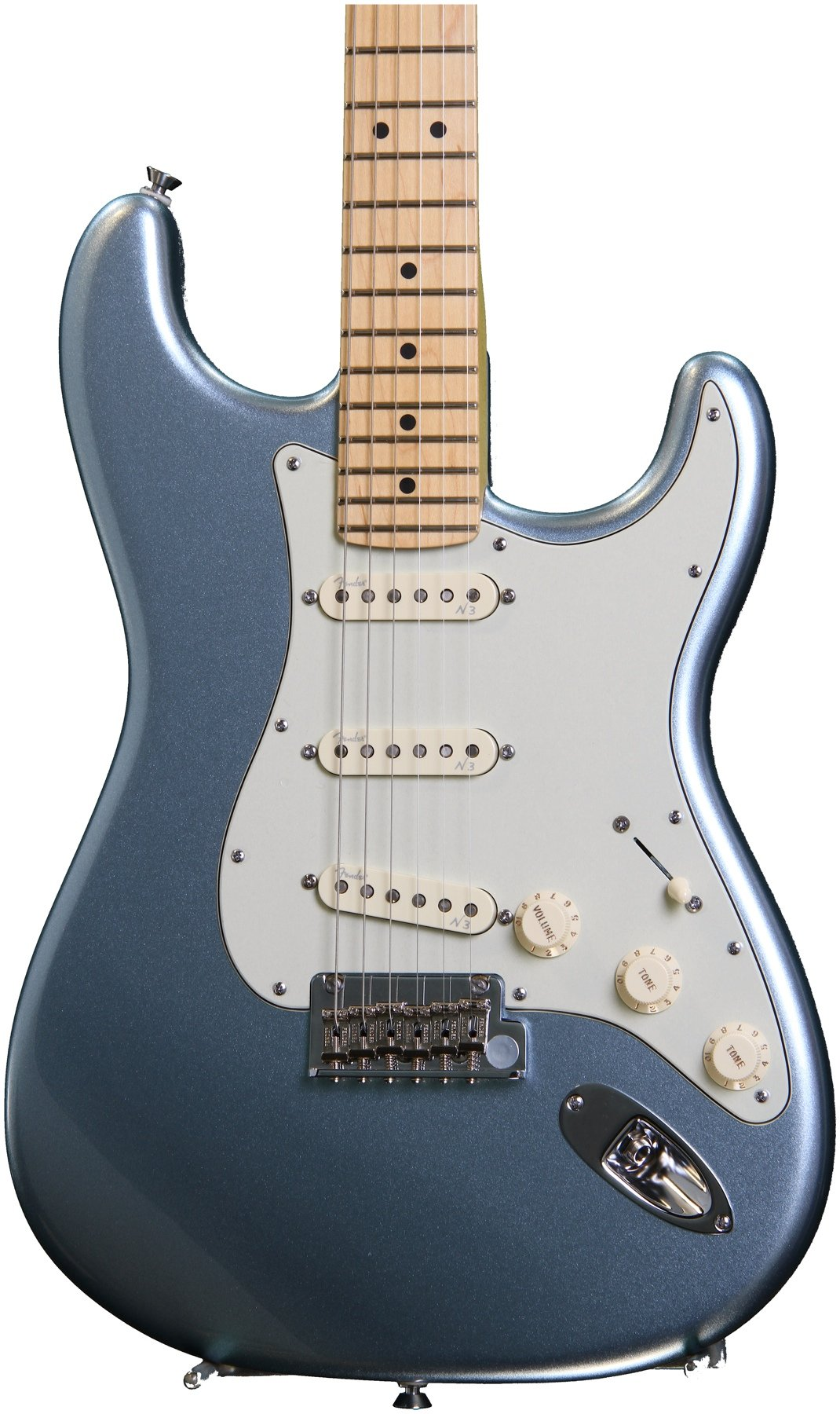Fender american deluxe strat plus with personality cards mystic fender american deluxe strat plus with personality cards mystic ice blue image 1 freerunsca Choice Image