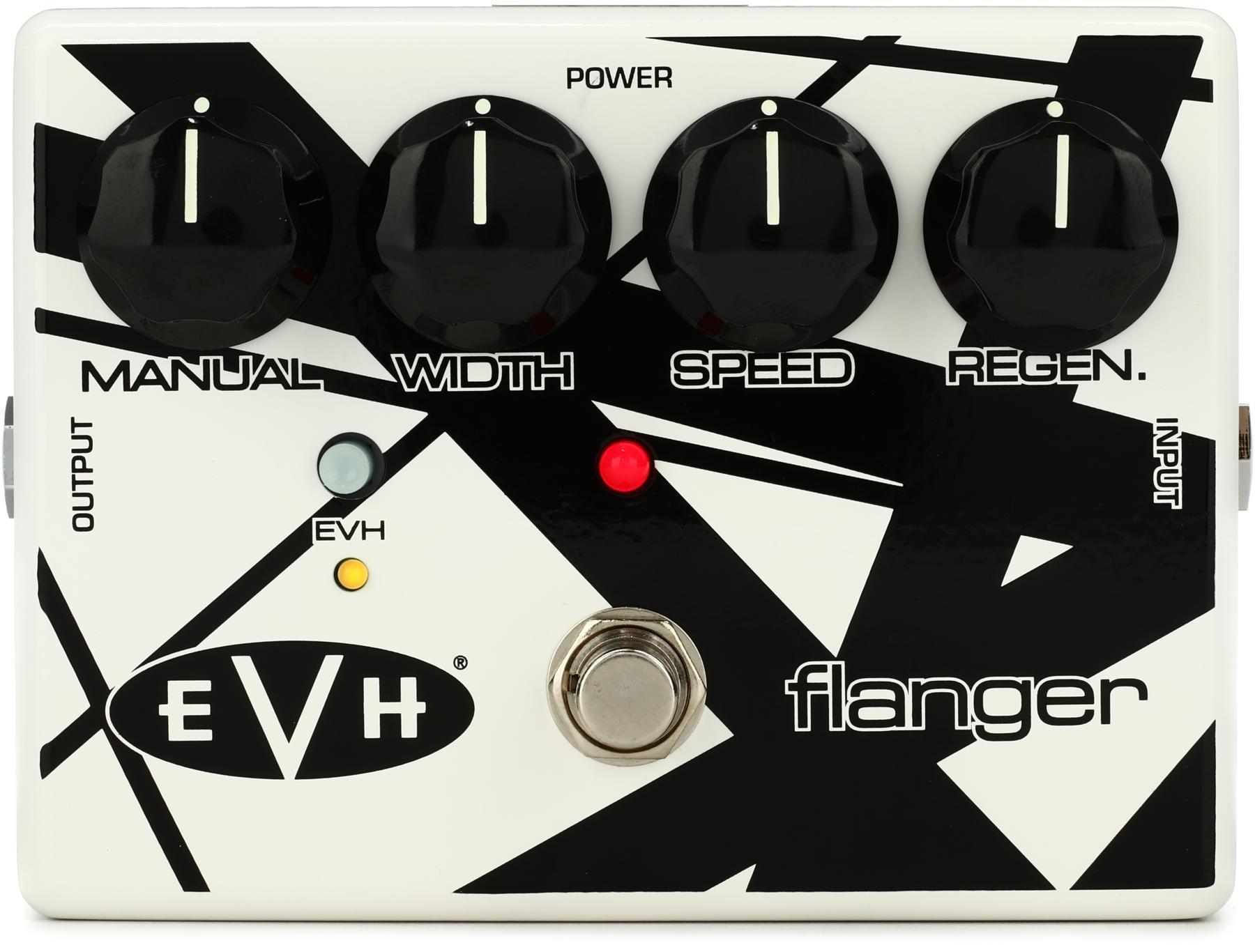 EVH117 EVH BLACK /& WHITE STRIPES PICK TIN MXR EVH-117 Eddie Van Halen Flanger