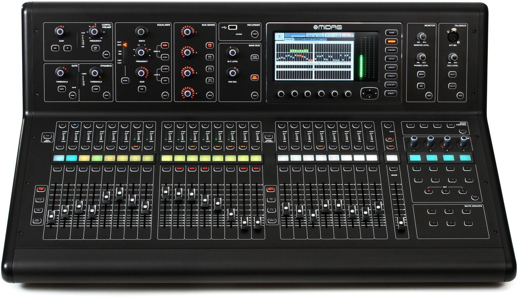 Midas M32-IP, 40-Channel Live / Studio Digital Mixer Console