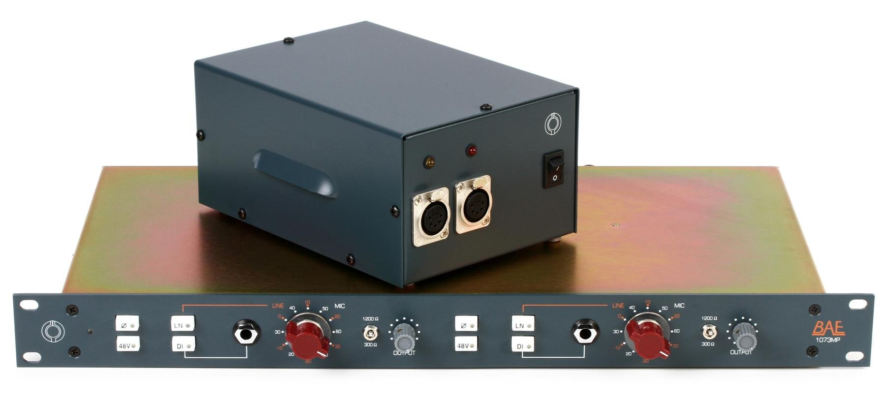 Bae 1073mp Dual Channel Mic Line Preamp Sweetwater Operational Amplifier But Many Others Amplifiers Will Fit Too Image 1