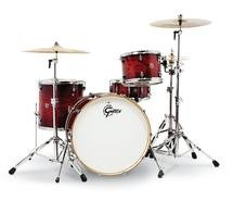 Gretsch Drums Catalina Club Rock 4-piece Shell Pack with Snare Drum - Gloss Crimson Burst