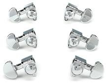 Grover 102C Rotomatic Tuners - 3+3 - Chrome