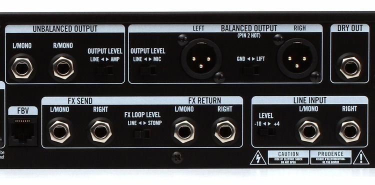 Line 6 POD HD Pro X Guitar Effects Rack Processor | Sweetwater