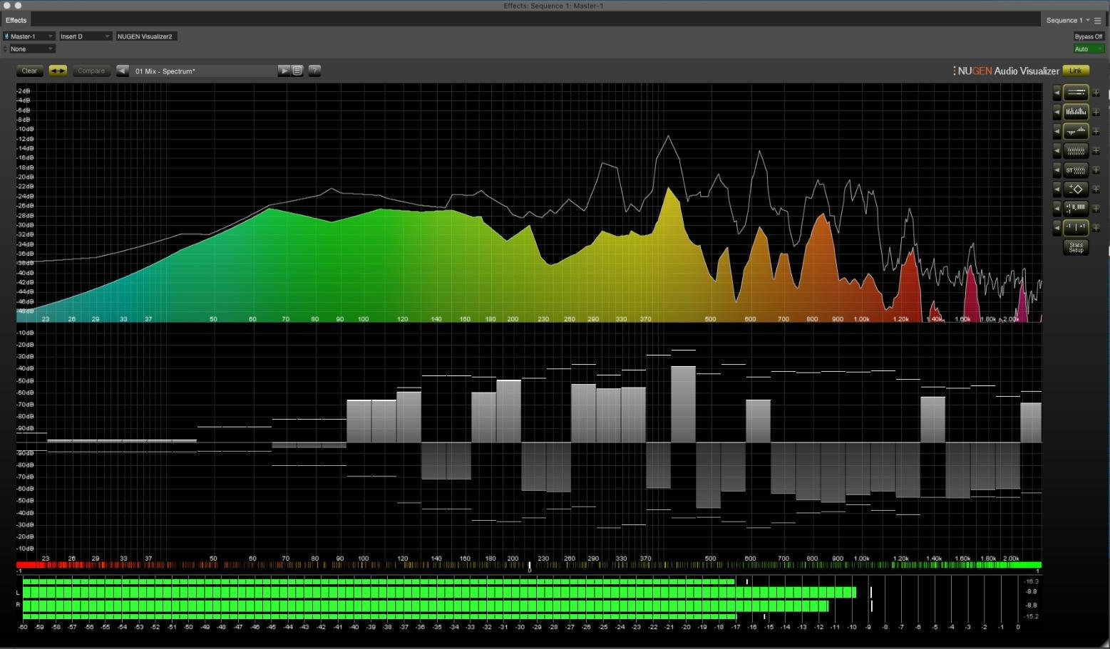 NUGEN Audio Visualizer Audio Analysis Suite | Sweetwater