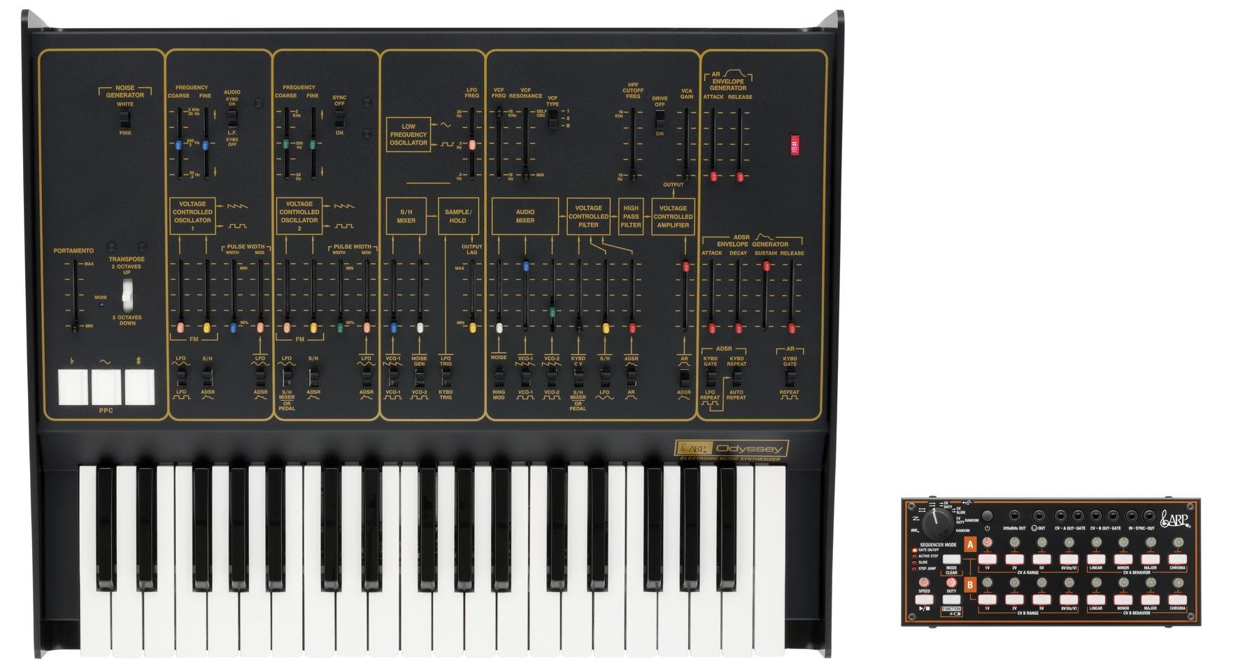 Arp Odyssey Fsq Analog Synthesizer With Sq1 Sequencer Rev2 Electromusiccom View Topic Please Explain Me This Ad Envelop Image 1