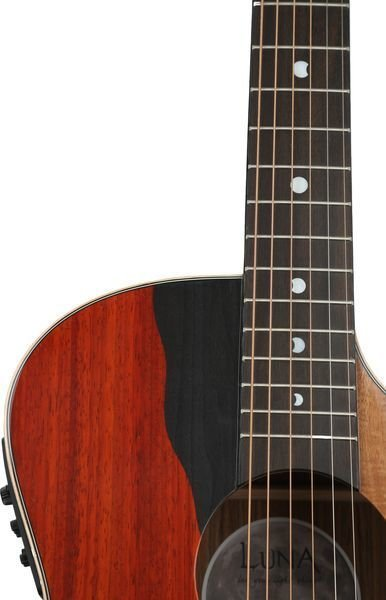 f60cfaac583 ... of what the Vista Bear A/E sounds like. This acoustic-electric guitar  also features an ornate top made of padauk, quilt maple, ebony, spalted  maple, ...