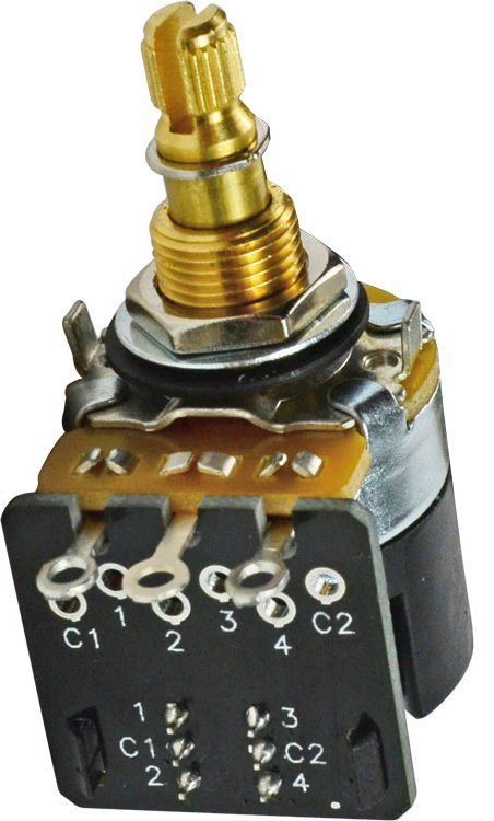 Mojo Tone CTS Push-pull Potentiometer - Short Shaft - 500k