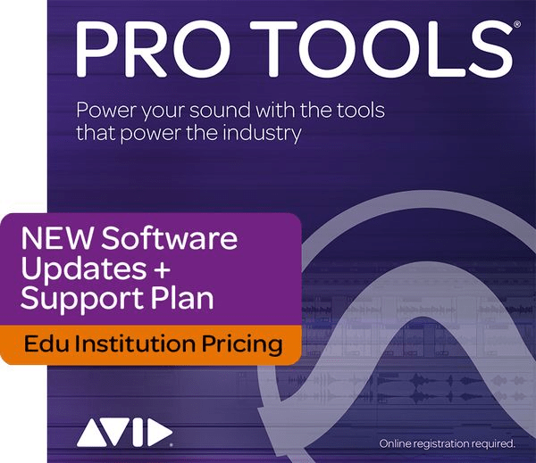 Avid 1-Year Updates + Support Plan for Pro Tools Academic