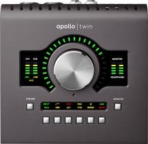 Universal Audio Apollo Twin MKII QUAD 2x6 Thunderbolt Audio Interface with UAD DSP