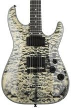 Schecter C-1, Sweetwater Exclusive - Snow Leopard