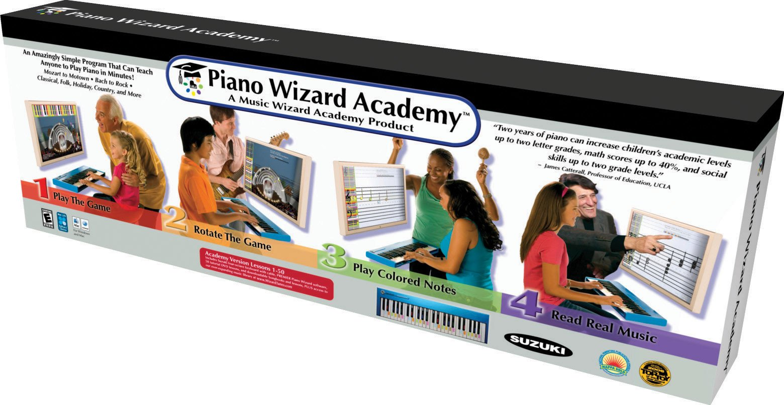 Allegro Multimedia Piano Wizard Academy Pro Pack | Sweetwater