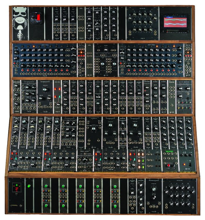 moog emerson modular system limited edition reissue modular synthesizer sweetwater. Black Bedroom Furniture Sets. Home Design Ideas