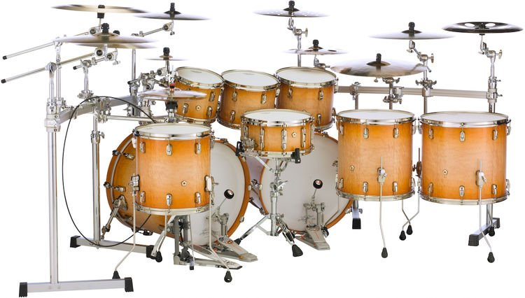 Pearl Masterworks 9-piece Stadium Exotic Shell Pack