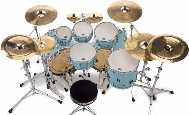 Sonor Sq1 20 Quot 3 Piece Shell Pack Roadster Green Sweetwater