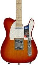 Fender American Elite Telecaster - Aged Cherry Burst with Maple Fingerboard