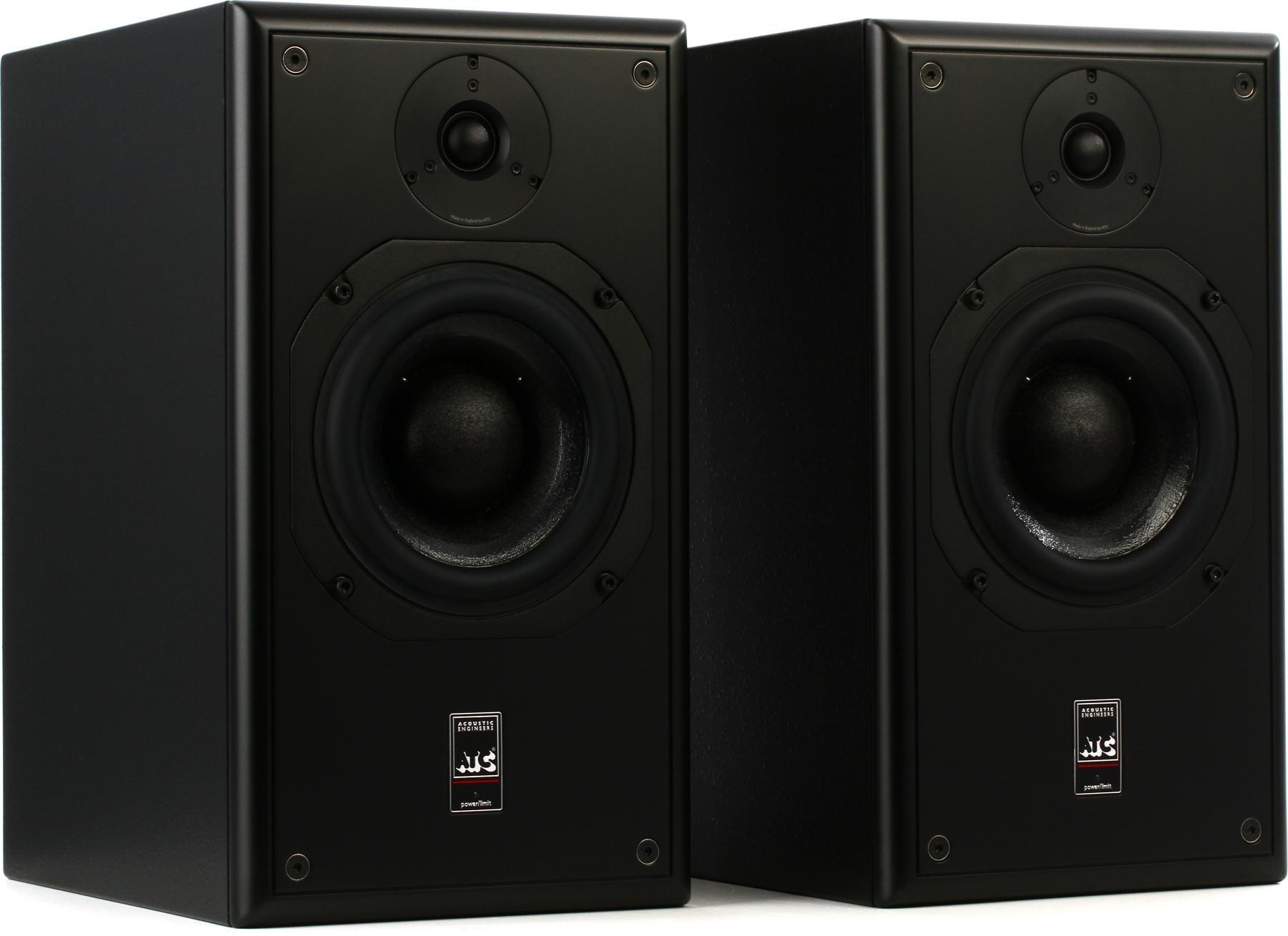 Atc Scm20asl Pro Mk2 65 Powered Studio Monitors Sweetwater Sonic Gear Quatro 2 Portable 20 Speaker Image 1