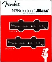 Fender N3 Noiseless J Bass Noiseless Jazz Bass Pickup 2-piece Set