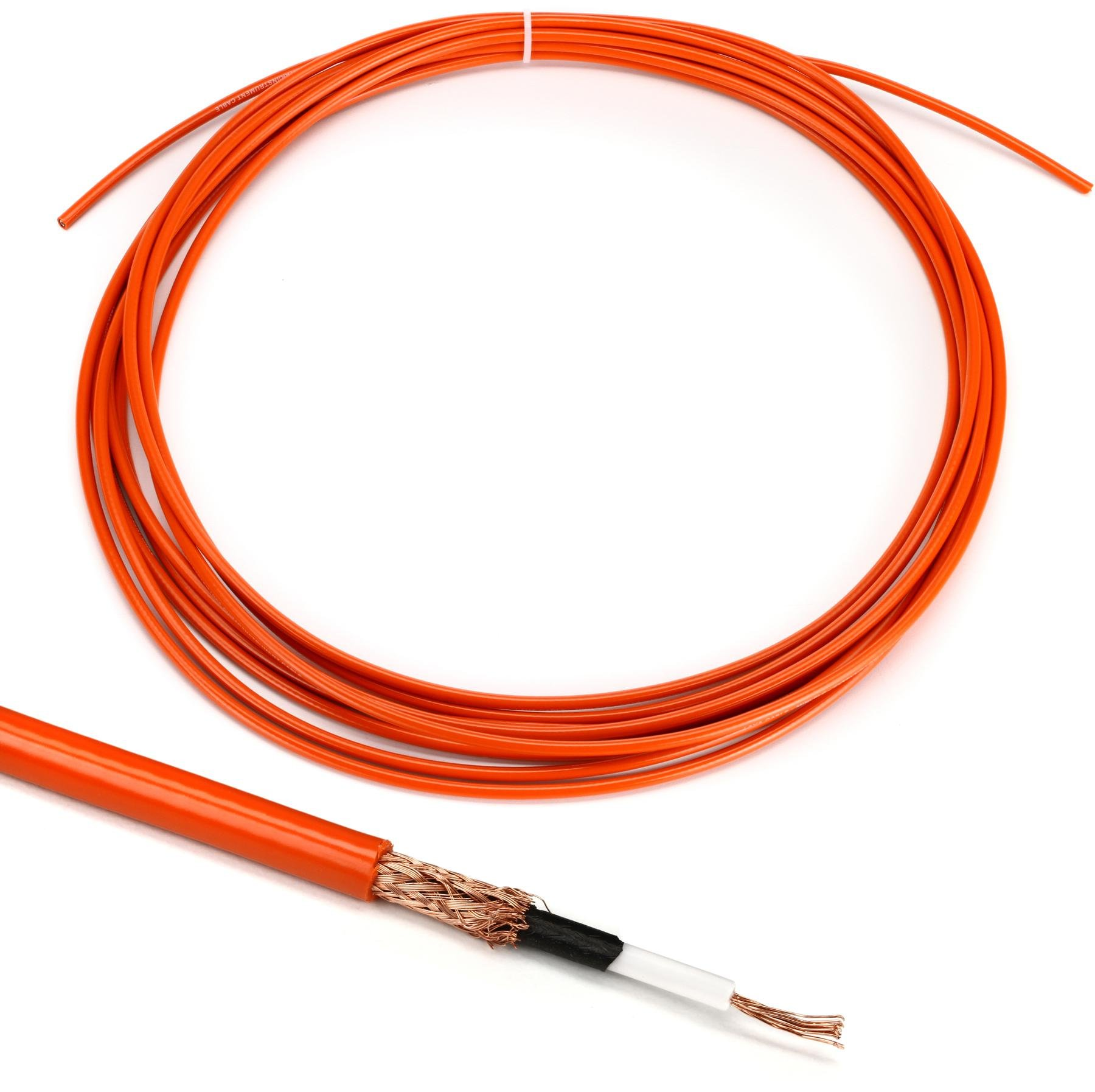 Lava Mini ELC Solder Free Bulk Pedalboard Cable Red Sold-By-The-Foot