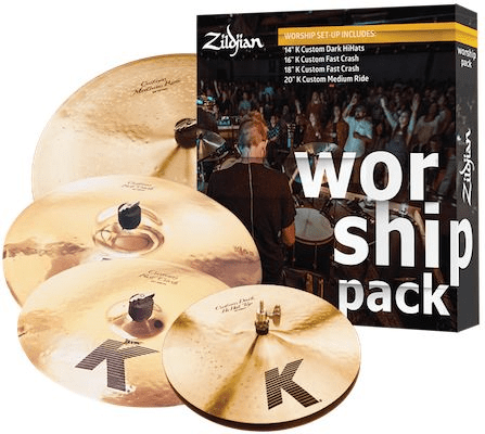 zildjian k custom cymbal set worship pack sweetwater. Black Bedroom Furniture Sets. Home Design Ideas