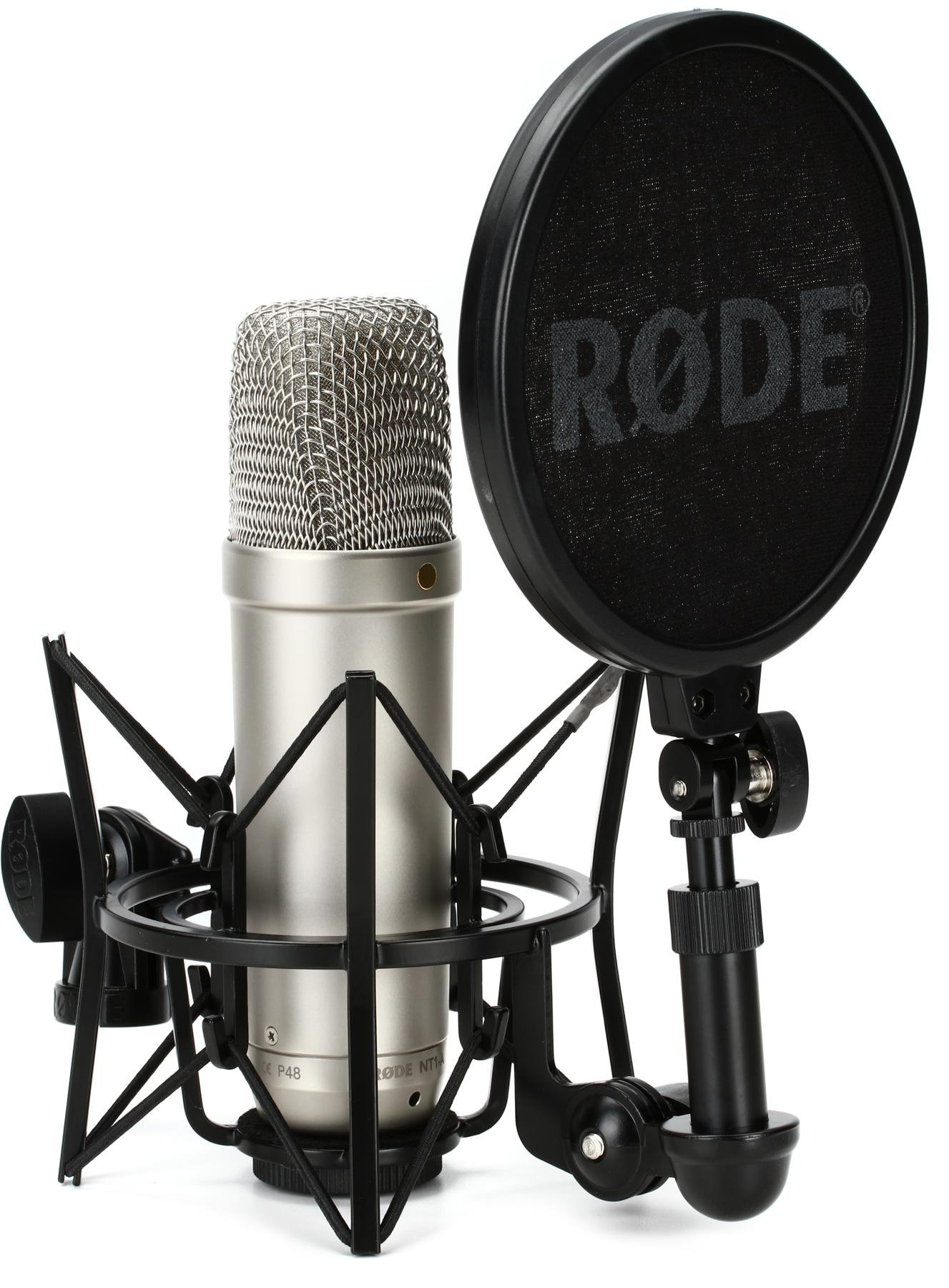 Rode Nt1 A Large Diaphragm Condenser Microphone Sweetwater Ribbon Diagram Image 1