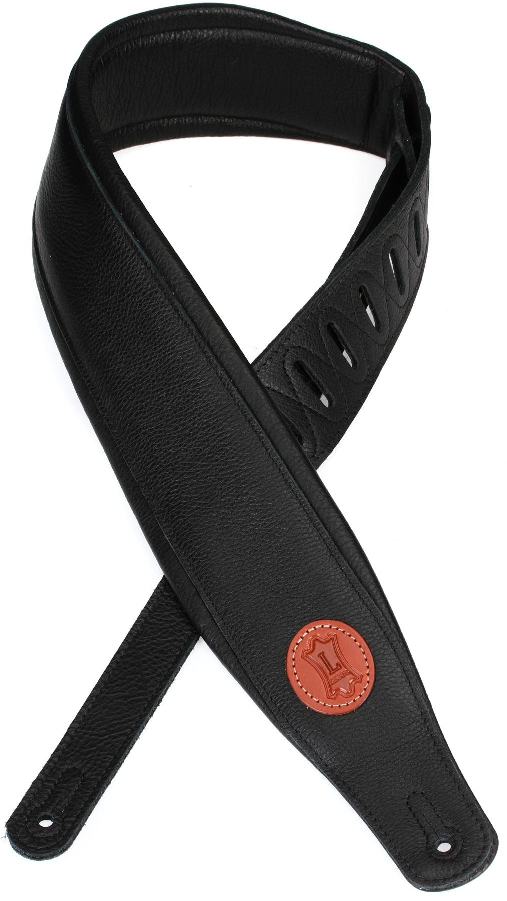 Levys Leathers Mss2-4-wht 4 Garment Leather Signature Series Guitar Strap White