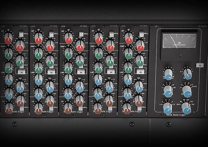 Solid State Logic Xl Desk Superanalogue Mixer With