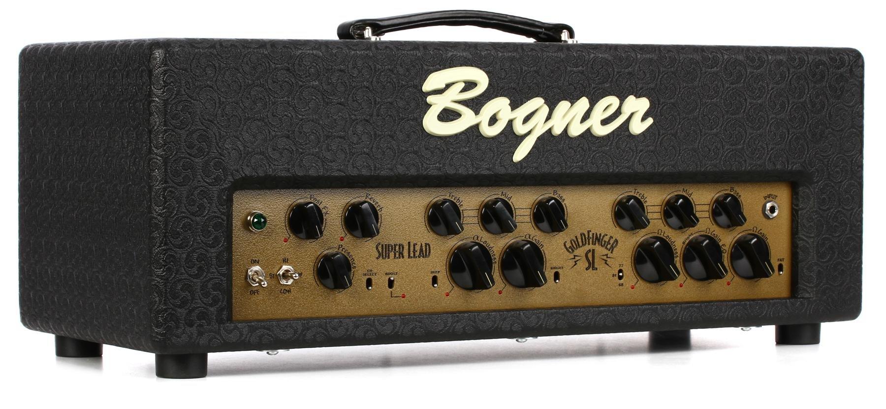 Bogner Gf45 Sl Goldfinger Superlead 45 Watt Handwired Tube Head 45w Power Amplifier Include Tone Control Image 1