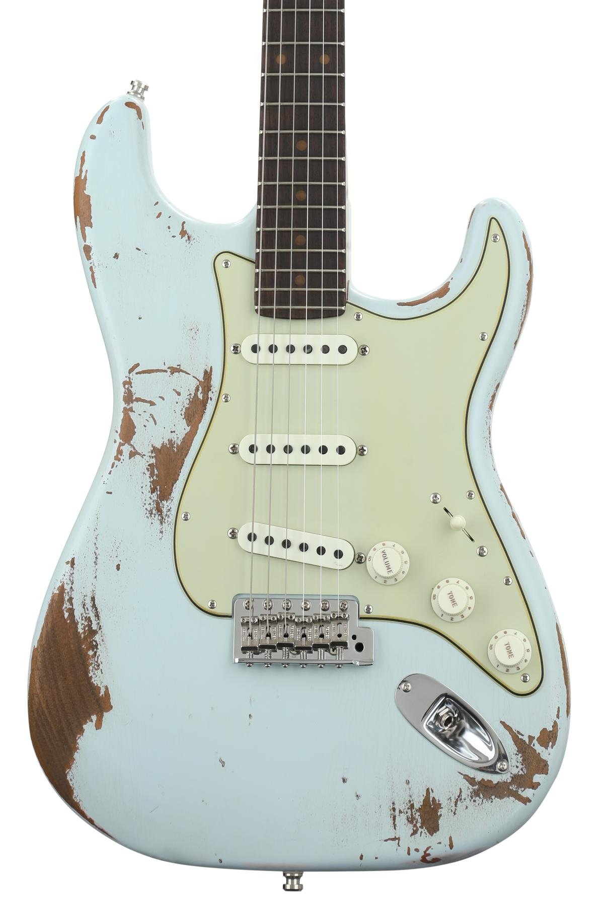 Fender Custom Shop Gt11 Stratocaster Heavy Relic Sweetwater Guitar Kit Builder Understanding The 5way Switch Exclusive Aged Sonic Blue Image 1