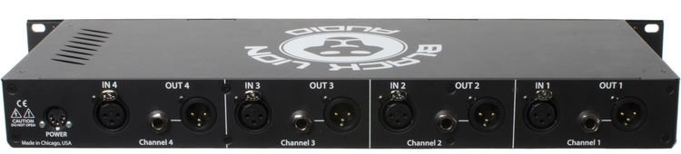 Black Lion Audio B12A Quad - 4 Channel Mic Preamp | Sweetwater