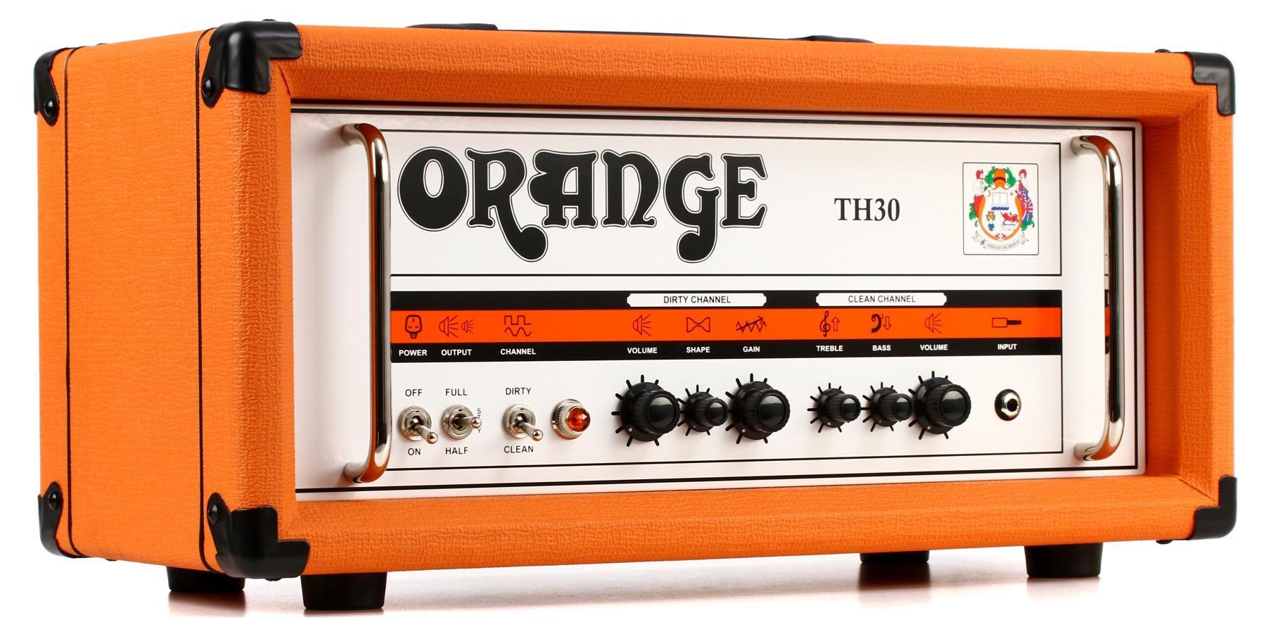 Orange TH30H 30-watt 2-channel Tube Head   Sweetwater