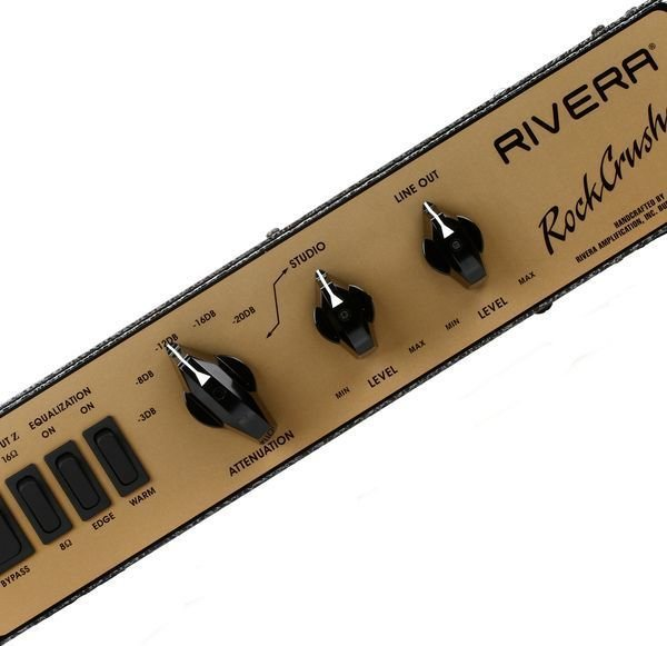 rivera rockcrusher gold face power attenuator load box for amps sweetwater. Black Bedroom Furniture Sets. Home Design Ideas