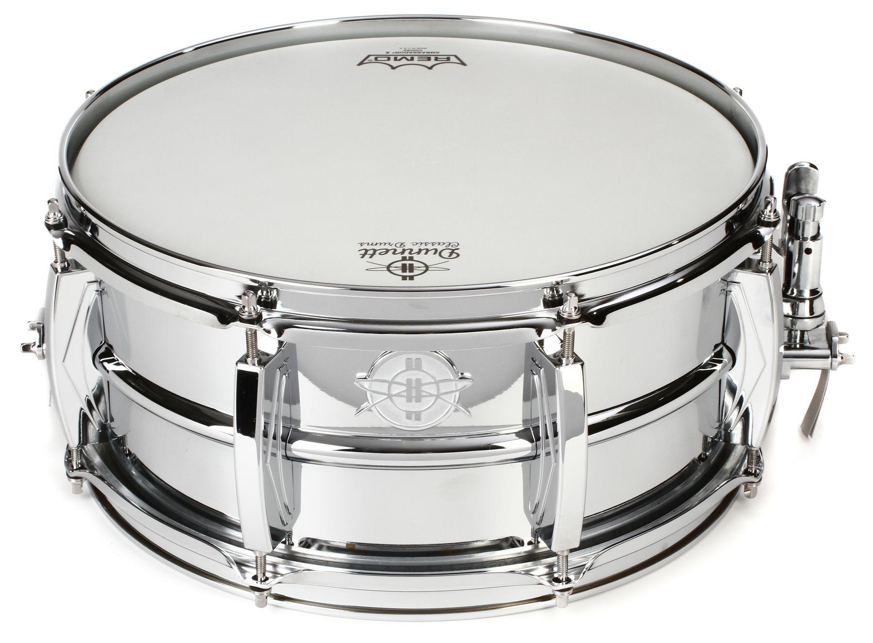 Dunnett Classic Model 2N Brass Snare Drum - 6.5\