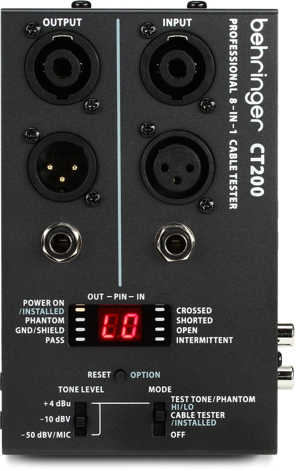 Behringer Ct200 Sweetwater Tool Aid Intermittent Short Finder And Circuit Image 1