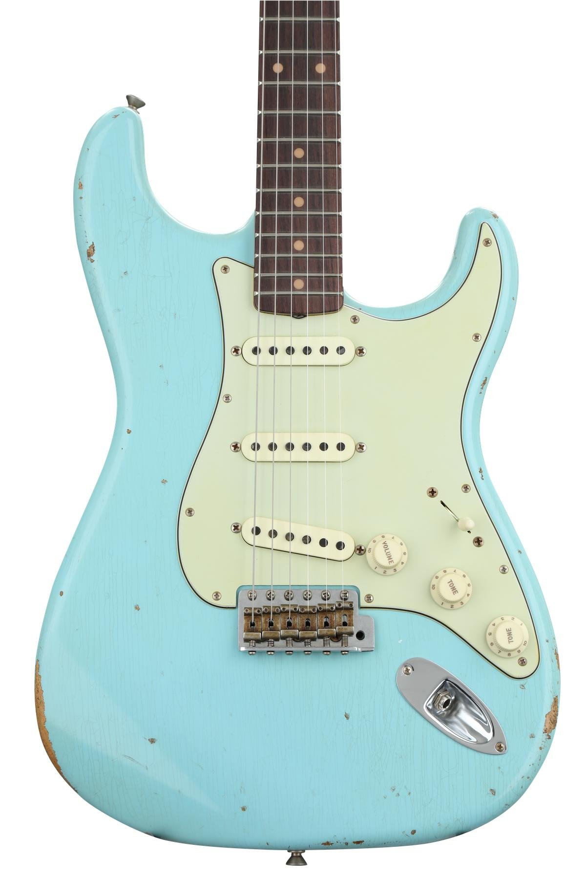 Fender Custom Shop 1960 Relic Stratocaster - Aged Olympic White with ...
