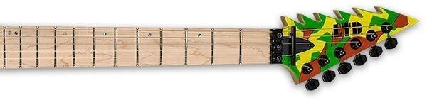 d2adad xc GL KAMI4 neck - ESP LTD George Lynch GL-KAMI4 - Kamikaze-4 Graphic