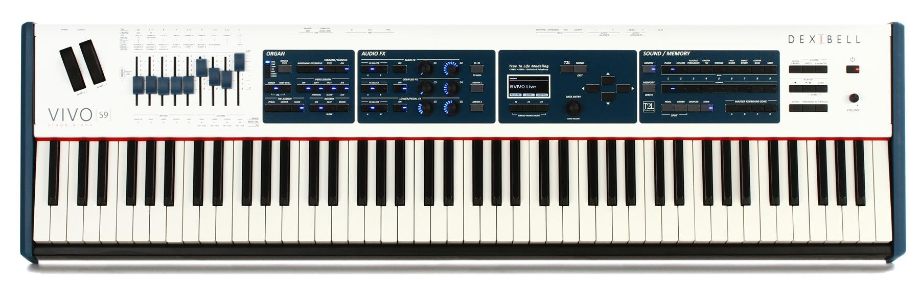 Dexibell VIVO S9 88-key Digital Piano | Sweetwater