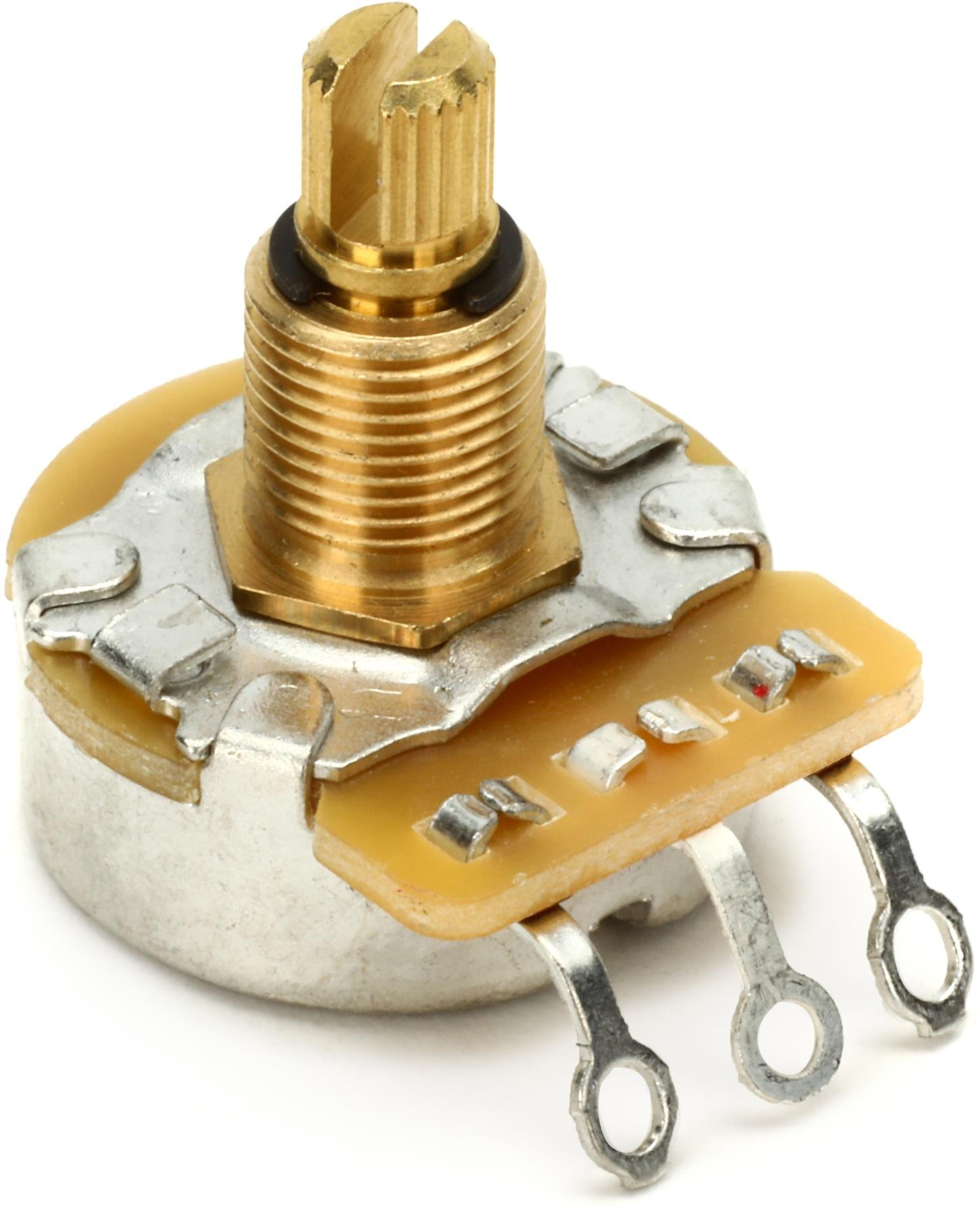 Emerson Custom Treble Bleed Circuit Volume Mod Sweetwater Wiring Guitar Jack Socket Dimarzio Ep1201 500k Pot