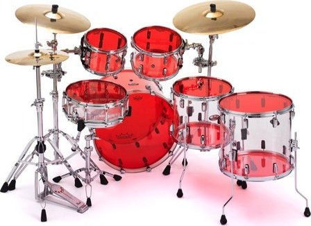 remo emperor colortone drumhead 13 red sweetwater. Black Bedroom Furniture Sets. Home Design Ideas