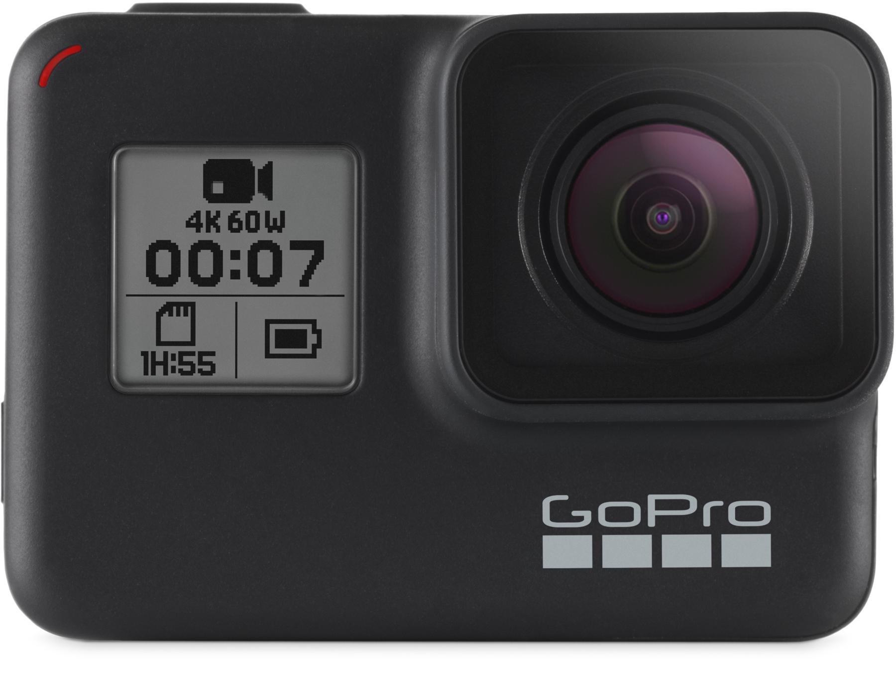 Gopro Hero7 Black 4k60 Waterproof Action Camera Sweetwater Hero5 Free Acc Shorty Image 1