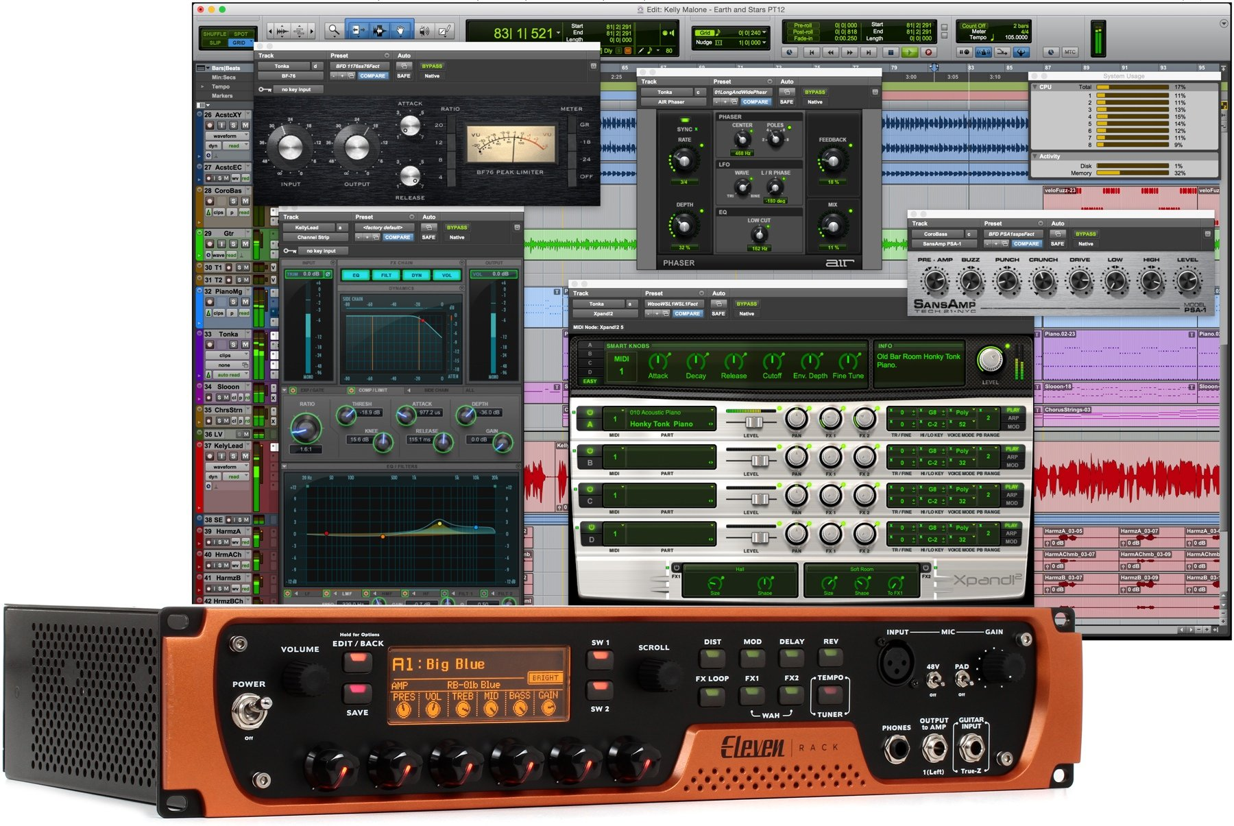 Avid Eleven Rack With Annual Subscription Image 1