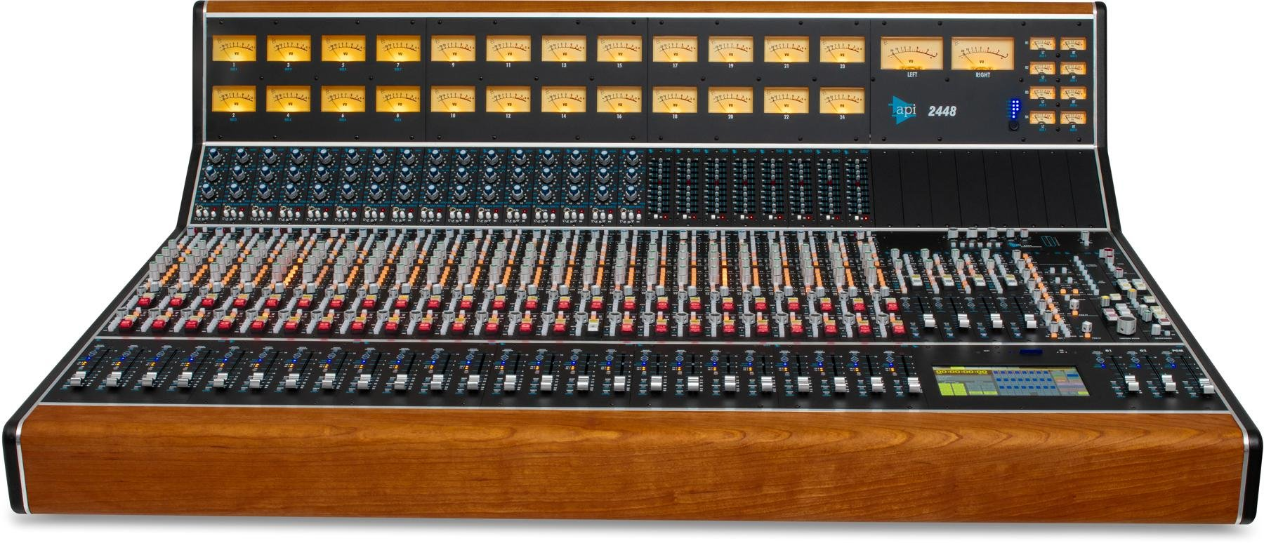 API 2448 24-channel Recording and Mixing Console with Automation image 1