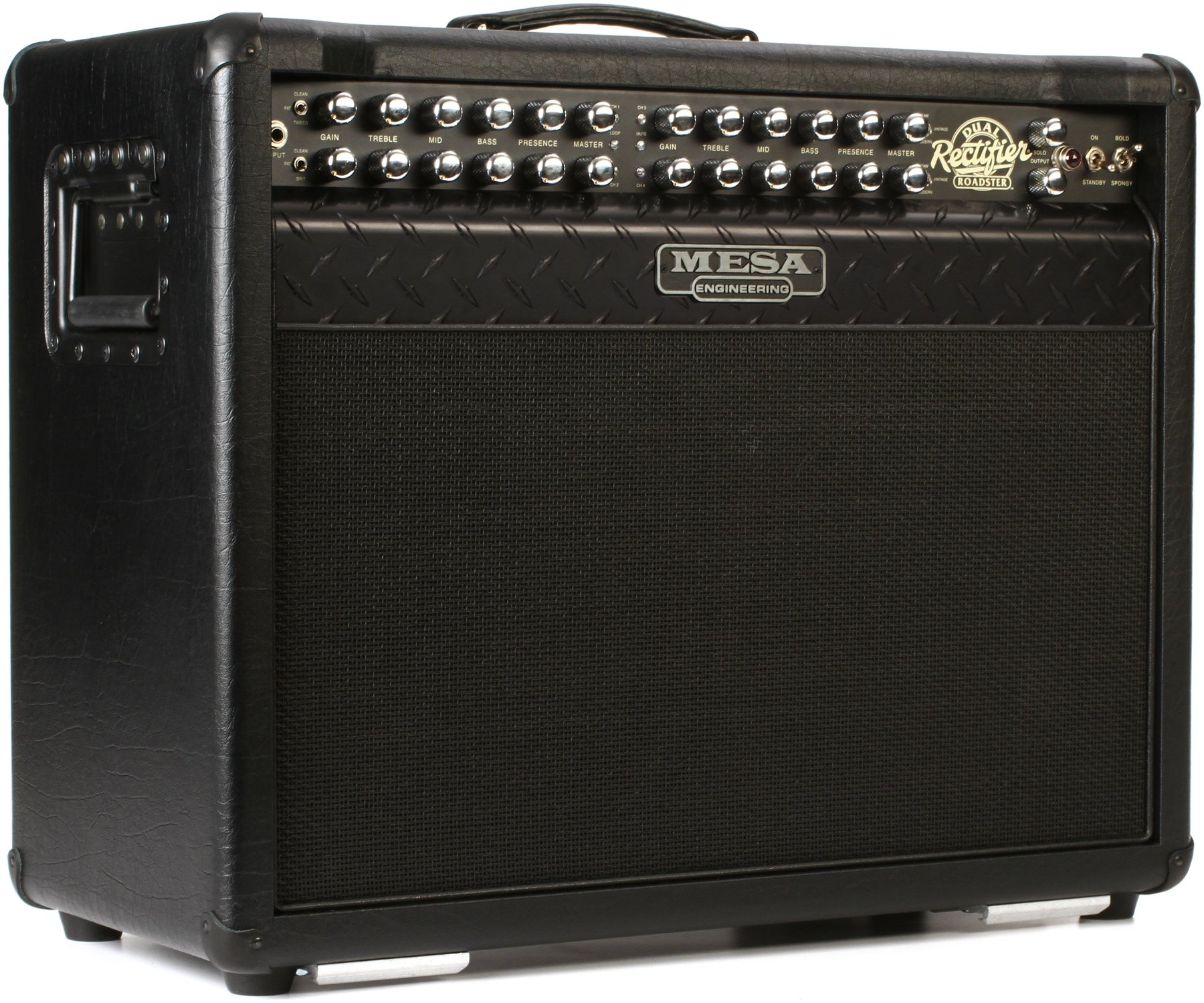 Mesa Boogie Dual Rectifier Roadster 100 Watt 2x12 Tube Combo Amp Many Parts Of Solo Head Schematic Diagram Black