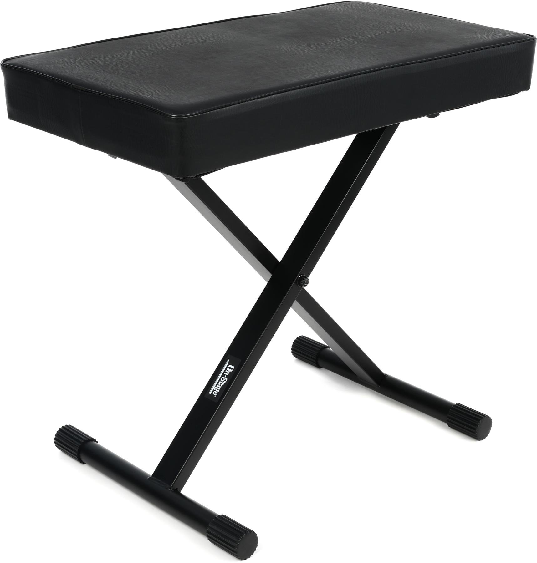 On-Stage Stands KT7800+ Deluxe X-Style Bench image 1