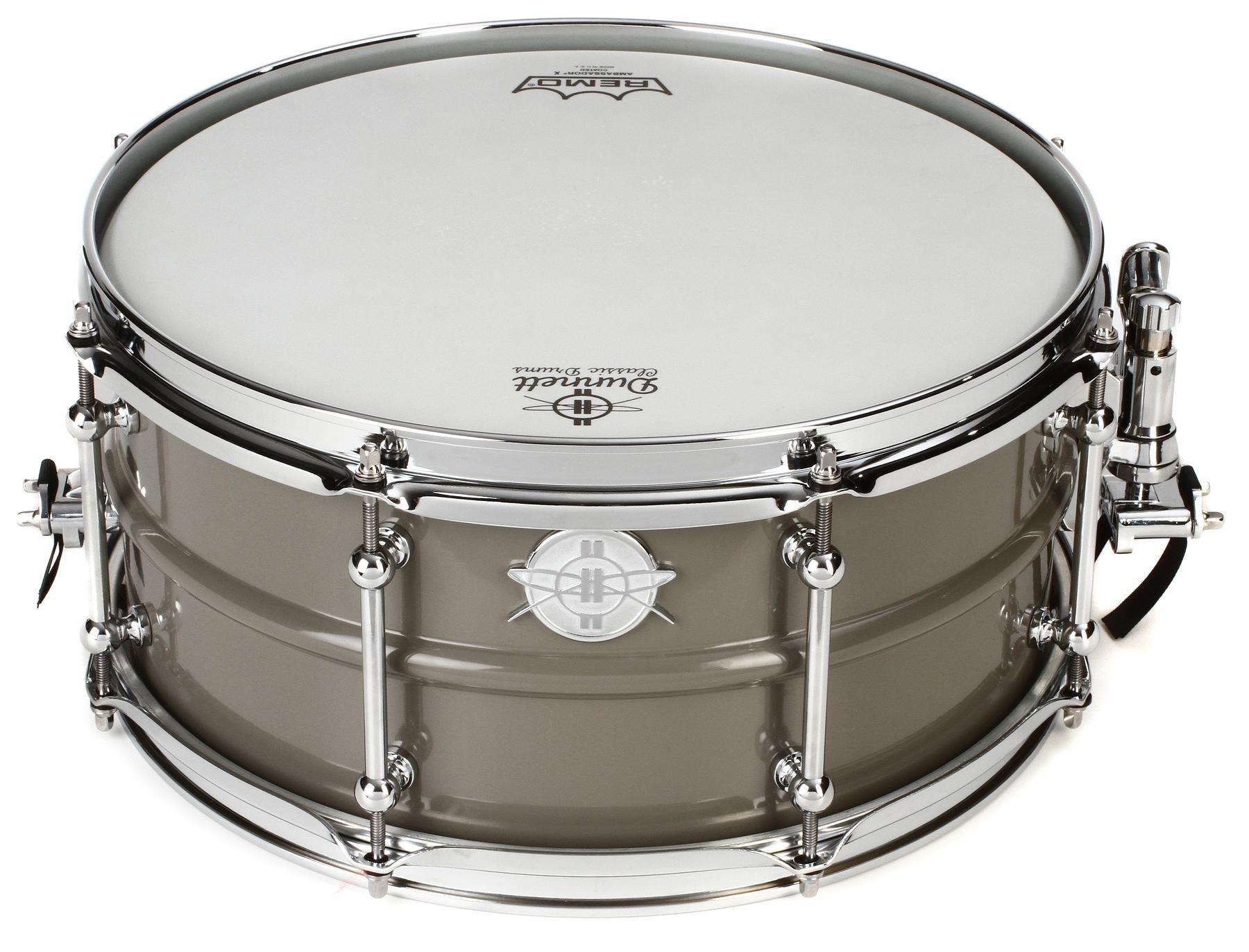 Dunnett Classic Model 2N Carbon Steel Snare Drum - 6.5\