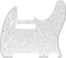 Fender Standard Telecaster Pickguard 8-hole White Pearloid