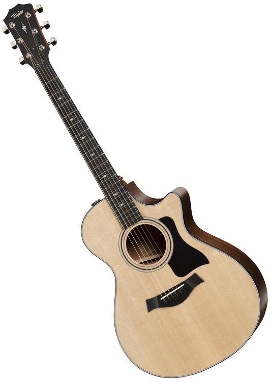 2afc61 312ceVC front - Taylor 312CE Sb LTD V-Class Acoustic/Electric Guitar